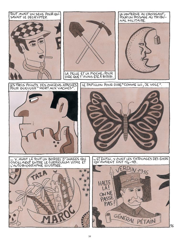 Planche 36 de la bande dessinée Paco les mains rouges
