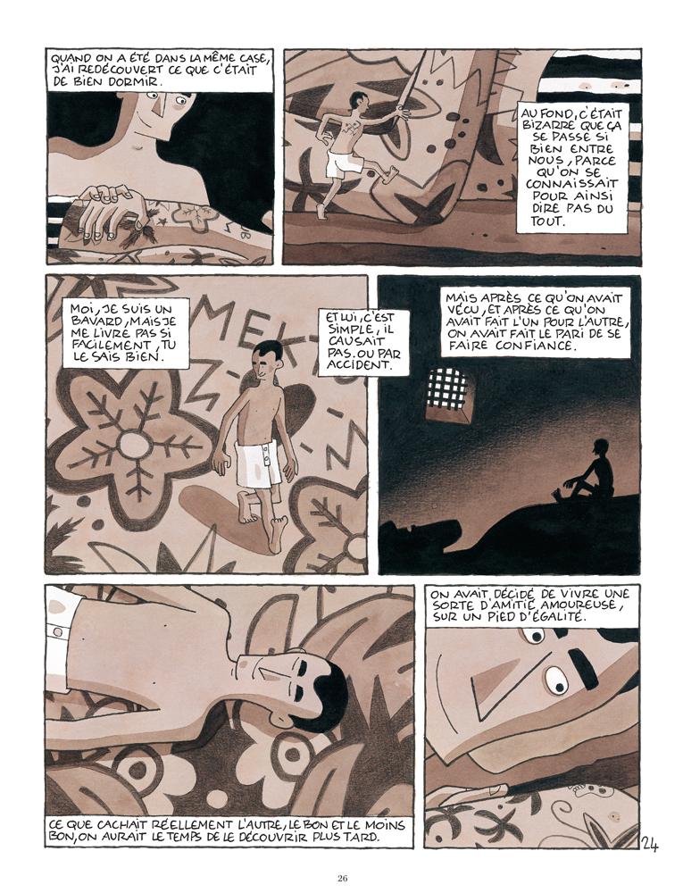 Planche 24 de la bande dessinée Paco les mains rouges